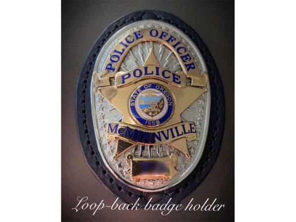 Beaverton PD Badge Holder