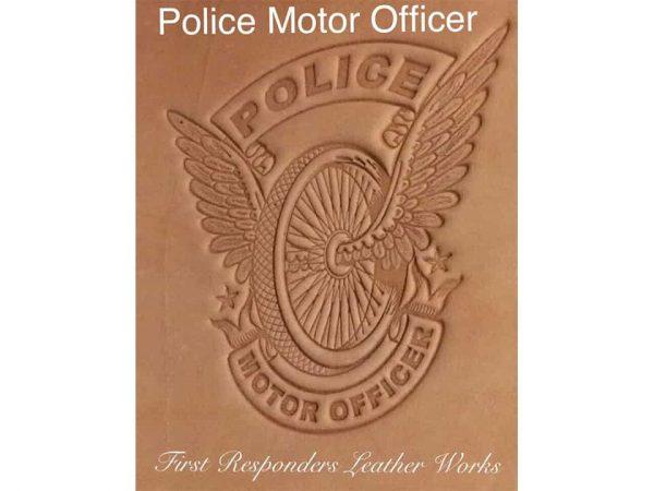 Police Motor Officer Notebook