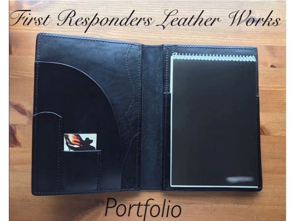 Custom Leather Portfolio Covers