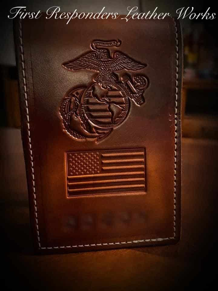 United States Marine Corps notebook