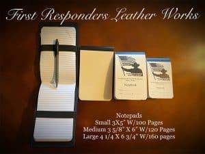 Custom notepads for duty notebooks